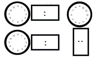Editable Schedules With Analog And Digital Clock Worksheets