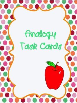 Editable Analogy Task Cards