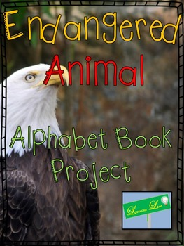 Endangered Animal Alphabet Book Project: Editable Rubric
