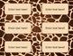 Editable Animal Print Safari Labels
