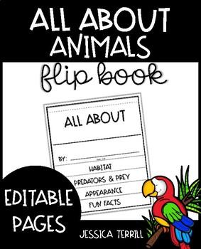 Editable Animal Research Flipbook