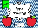 Apple Nametags (Editable)