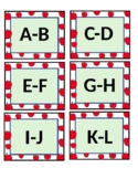 Editable Apple Theme Leveled Library Labels: Letters, Numbers, Genre