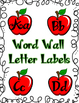 Editable Apple Theme Wordwall Header Labels