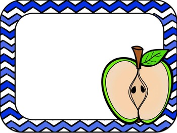 Editable Apples Rules Posters