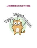 Editable Argument Essay Materials
