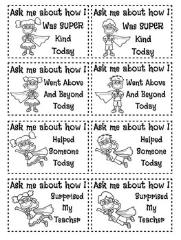 Editable Ask Me About Stickers / Cards