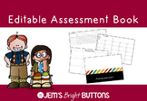 Editable Assessment Book