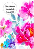 Editable Assessment Book