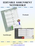 Assignment Notebook (Editable)