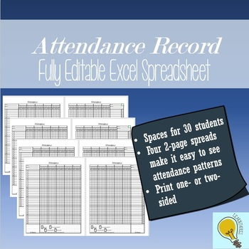 Editable Attendance Record