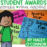 Editable Students Awards