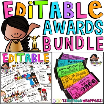 Editable Awards Bundle