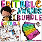 Editable Awards Bundle
