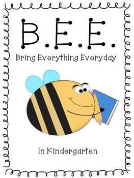 Editable BEE binder dividers
