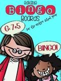 Editable BINGO Boards for the Entire School Year