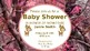Editable Baby Shower Invitations