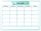 Editable Back to School Forms & Meet the Teacher Packet With 2017-2018 Calendar