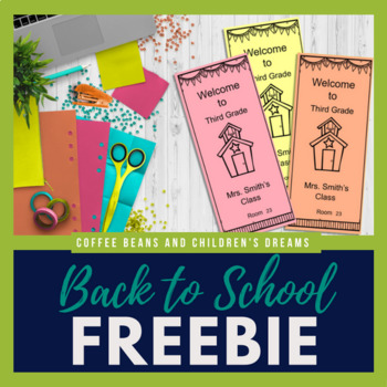 Editable Back to School Information Trifold