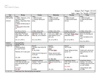 Editable Back to School Lessons-Week 1