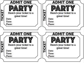 Editable Back to School Night/Open House/Graduation/Party Invitations FREEBIE