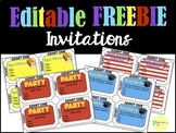Editable Back to School Night/Open House/Graduation/Party