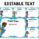 Editable Back to School Night Presentation - Superhero Themed