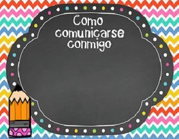 Editable Back to School PowerPoint SPANISH , Presentación para regreso a clase