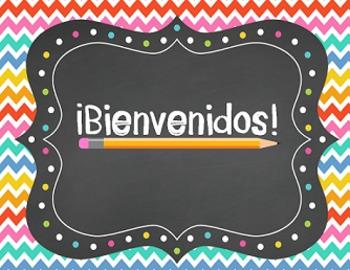 Editable Back to School PowerPoint SPANISH , Presentación