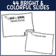PowerPoint and Parent Handouts {Chalkboard on Brights}