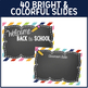 Editable PowerPoint and Parent Handouts {Chalkboard on Brights}