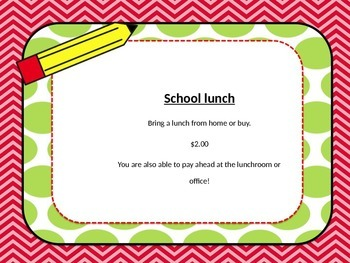 Editable Back to School Powerpoint