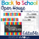 Editable Back to School Presentation Bundle {Open House & Procedures}