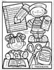 Editable -Back to School Procedures Coloring Sheet