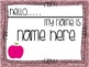 Editable Back to School Tags and Labels {Glitter Theme}
