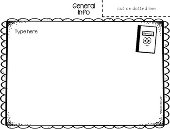 Editable Back to School/Open House Parent Flip Books - 4th Grade CCSS