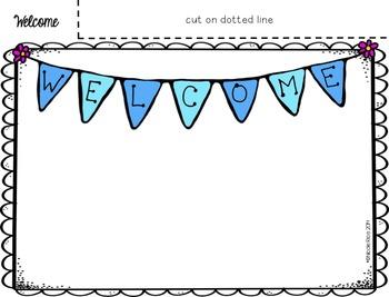 Editable Back to School/Open House Parent Flip Books - 5th Grade CCSS