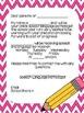 Editable Back to Speech Parent Letters