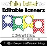 Editable Banner-8 Colors