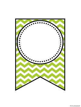 Editable Banner - Chevron