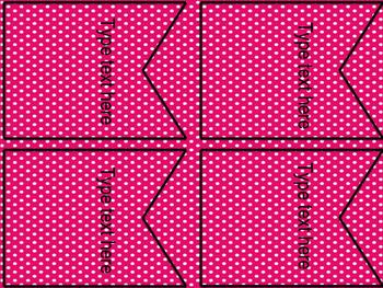 Editable Banner - Polka Dot