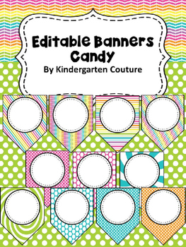 Editable Banners - Candy Theme
