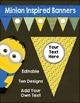 Editable Banners Growing Bundle for Classroom Decor