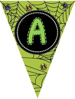 """Editable Banners- """"Halloween"""""""
