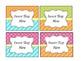 Editable Basket Labels