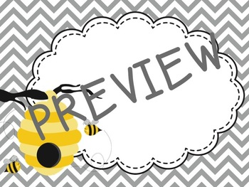 Editable Bee Labels Mega Set