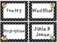 Editable Bee Library Labels