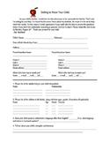 Bilingual BUNDLE - Editable Beginning of the Year Parent Q