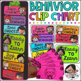 Behavior Chart | Editable Clip Chart | Classroom Management