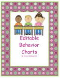 Editable Behavior Charts